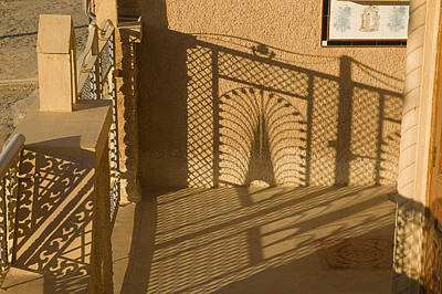 Grill Gate Photograph - Skn 1508 Shadow Design by Sunil Kapadia