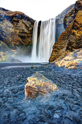 Craig Brown Photograph - Skogafoss Waterfall by Craig Brown