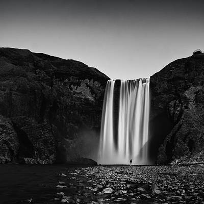 Photograph - Skogarfoss by Frodi Brinks