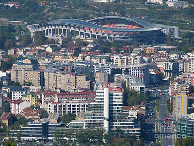 Photograph - Skopje City And Stadium by Phil Banks