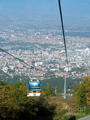 Photograph - Skopje From The Cablecar by Phil Banks
