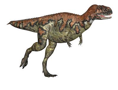 Paleozoology Photograph - Skorpiovenator Dinosaur by Friedrich Saurer