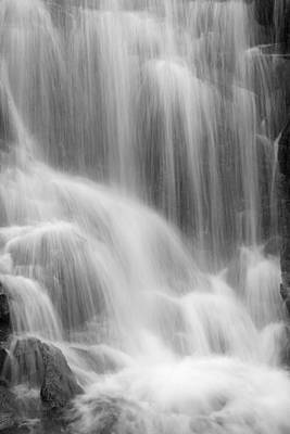 Impressionist Landscapes - SKC 0218 Soothing Waterfall by Sunil Kapadia