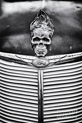 Truck Photograph - Skull And Bones by Tim Gainey