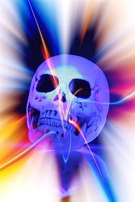 Digital Art - Skull Art by Al Fritz