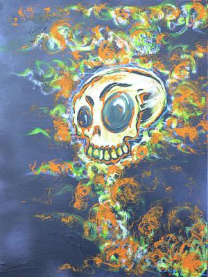 Skull Candy Art Print by Travis Burns