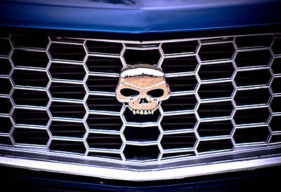 Mazda Rx3 Photograph - Skull Grill by Phil 'motography' Clark