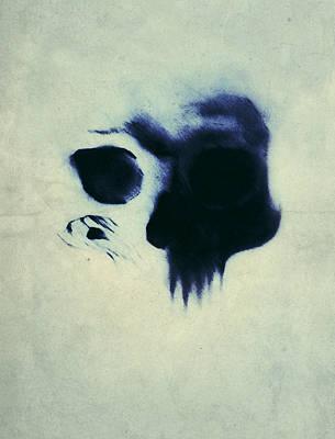 Skull Painting - Skull by Nicklas Gustafsson