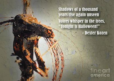 Photograph - Skull Shadow by Cheryl McClure