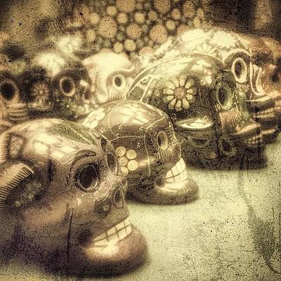 Photograph - Skulls-a-plenty by Kathleen Messmer