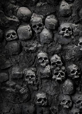 Skulls Art Print by Bruno Ehrs