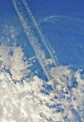Photograph - Sky Abstract by Glenn Gordon