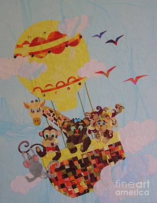 Mixed Media - Sky Adventurers by Diane Miller