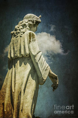 Seraph Photograph - Sky Angel by Terry Rowe