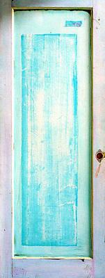 Sculpture - Sky Blue Entrance Entre Vous by Asha Carolyn Young