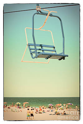Photograph - Sky Blue - Sky Ride by Colleen Kammerer