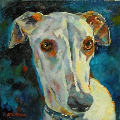 Puppy Love Painting - Sky by Chris Brandley