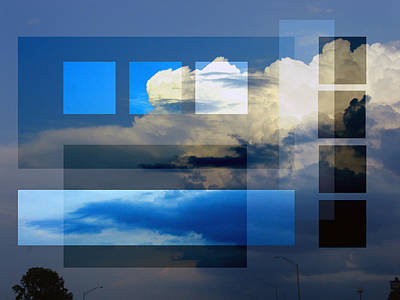 Photograph - Sky Collage by Steve Karol