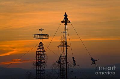 Photograph - Sky Dancers - San Miguel De Allende Mexico by Craig Lovell