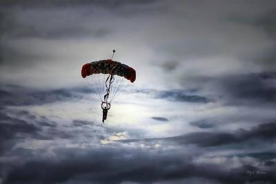 Photograph - Sky Diver by Dyle   Warren