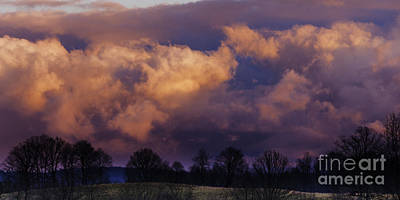 Sky Drama Art Print by Thomas R Fletcher