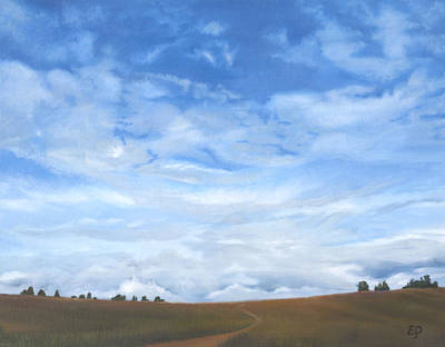 Painting - Sky by Elena Polozova
