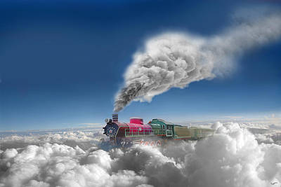 Photograph - Sky Express by Igor Zenin