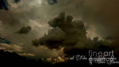 Sky / Haeven Art Print by Olivia Narius