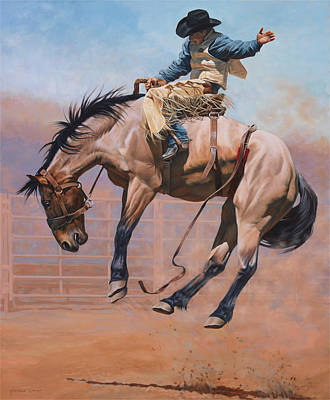 Horse Wall Art - Painting - Sky High by JQ Licensing