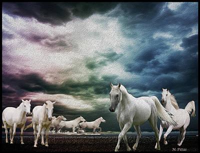 Sky Horses Art Print