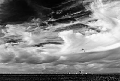 Photograph - Sky Jetty by Frank Winters