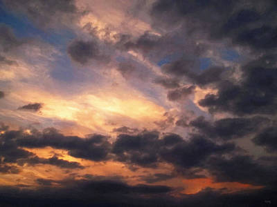 Photograph - Sky Moods - Depth by Glenn McCarthy