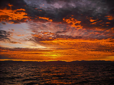 Photograph - Sky Of Fire by Steven Brodhecker