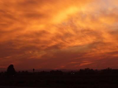 Photograph - Sky On Fire 3 by Susan Garren