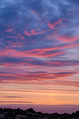 Photograph - Sky On Fire In Iceland by Victoria Porter