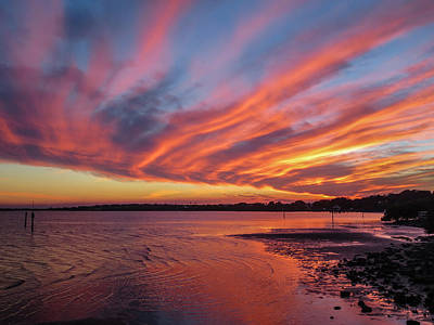 Photograph - Sky On Fire by Jane Luxton