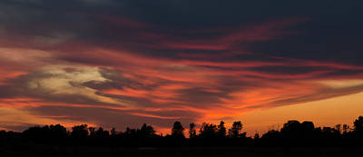 Photograph - Sky On Fire by Rob Huntley