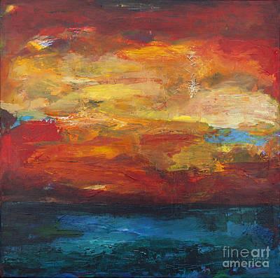 Sky On Water Art Print