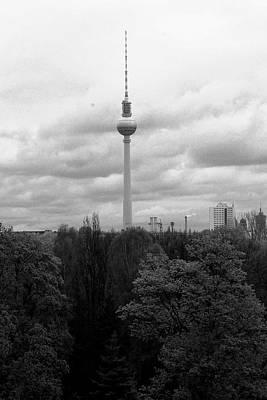 Sky Over Berlin Art Print by Steve K