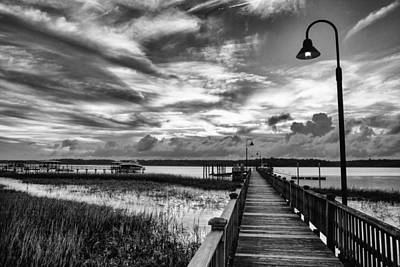 Photograph - Sky Over Rivertowne by Walt  Baker