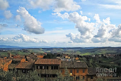 Photograph - Sky Over Tuscany by Elvis Vaughn