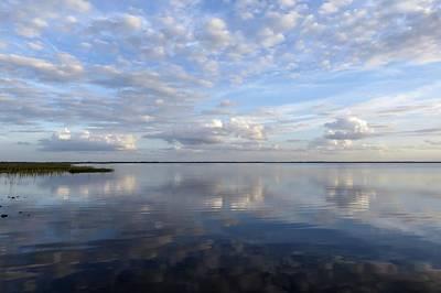 Sky Reflection Print by Zina Stromberg