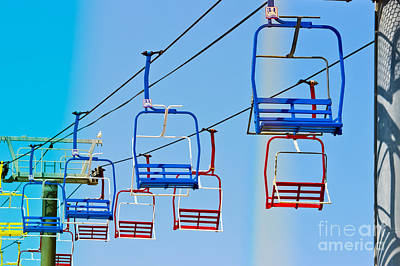 Sky Ride #34 Print by Colleen Kammerer