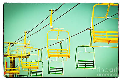 Sky Ride #41 Print by Colleen Kammerer