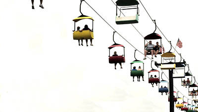Photograph - Sky Ride by Michael Moschogianis