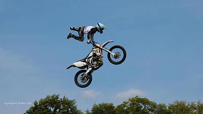 Photograph - Sky Rider 3 by Aleksander Rotner