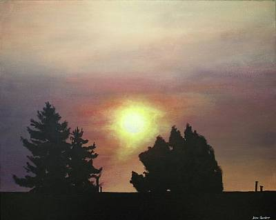 Sky-scape 4 Art Print by Kim Cyprian