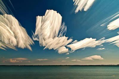 Sky Sculptures Art Print
