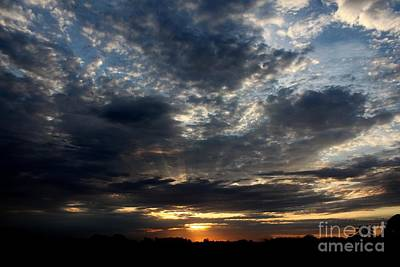 Photograph - Sky Show 1 by Erica Hanel