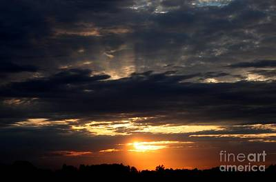 Photograph - Sky Show 3 by Erica Hanel